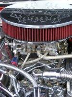 silnik z częściami case