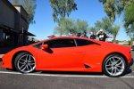 Czerwone auto sportowe