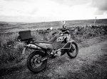 motocykl w terenie